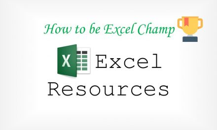 Excel Learning Resources