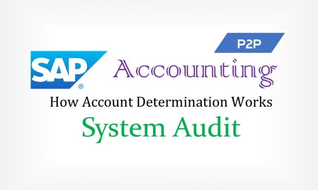 SAP Procure to Pay (P2P) Accounting and How to Audit