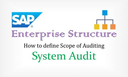 SAP organization Assignment – Enterprise Structure