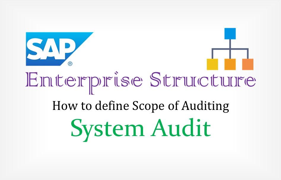 SAP organization Assignment – Enterprise Structure